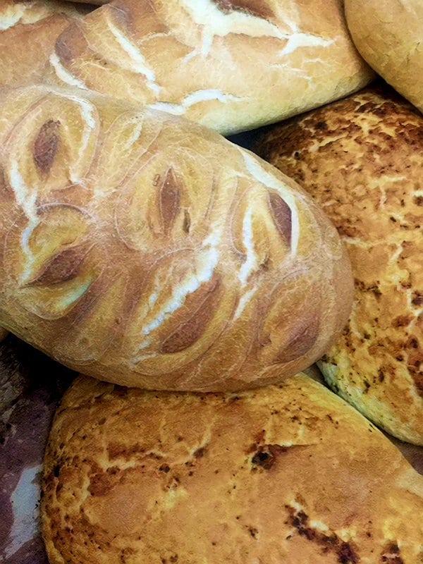 The Bakery, Tobermory, bread